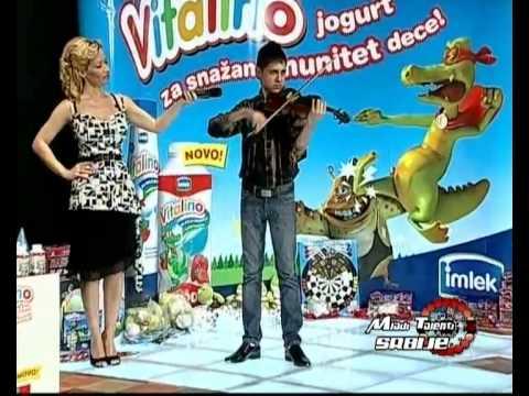 Darko Piler,winning at Mladi Talenti Srbije show at KCN TV,2009