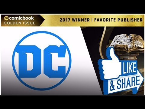The 2017 ComicBook.com Golden Issue Award for Favorite Publisher