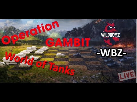 "[LIVE] ""2K"" World of Tanks -  Operatiunea GAMBIT Day.12"