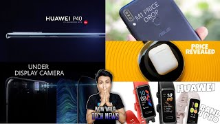Tech News#8 Oppo Under Display Camera Phone, Huawei P40 Reveal, Max Pro M1 Price Drop, earpods price