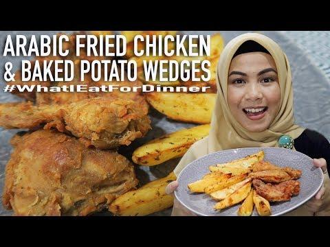 masak-arabic-fried-chicken-(resep-komplit)---whatieatfordinner-ep.6