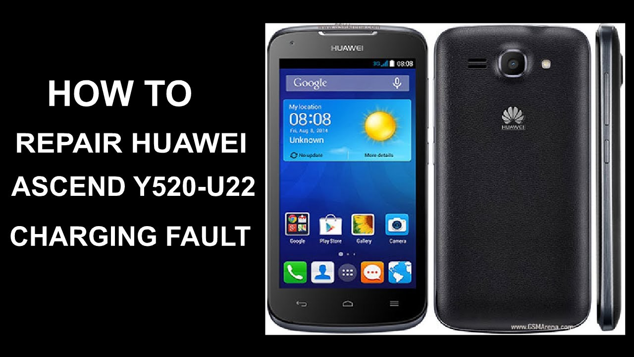 How to Repair Huawei Ascend Y520-U22 Charging Fault