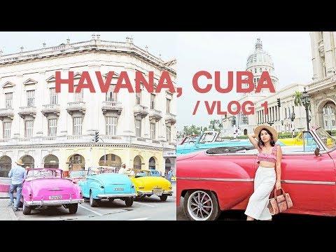 Cuba Travel Guide: Classic Car Tour + Hotel Room Tour | Havana, Cuba
