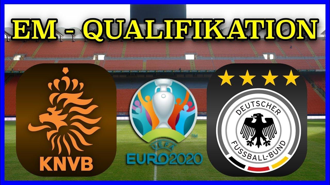 55 teams kämpften um 24 startplätze. Em Qualifikation 2020 Niederlande Vs Deutschland I Fifa 19 Prognose Hd Youtube