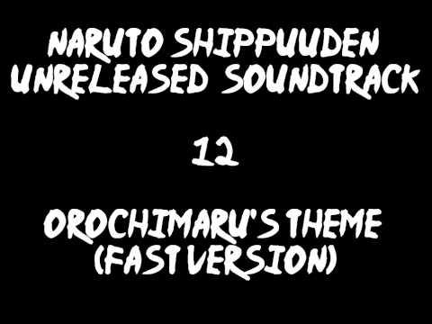 Naruto Shippuuden Unreleased Soundtrack - Orochimaru's Theme (fast version)
