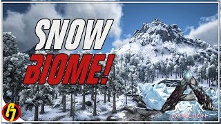 Ark Survival Evolved: EXTINCTION EXPANSION: Entering the Snow Biome for the First Time! (Part 10)