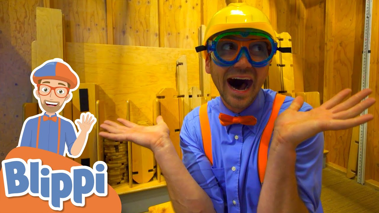 Blippi Visits The Hands On Children's Museum!   Fun & Educational Videos For Kids