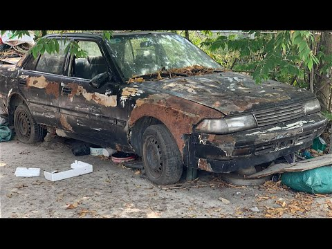 Restoration Car TOYOTA CORONA rusty – Repair manual Comprehensive restore old cars – Part 4