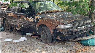 Restoration Car TOYOTA CORONA rusty - Repair manual Comprehensive restore old cars - Part 4
