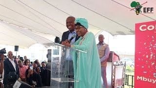 Mama Winnie Mandela at Commissar Dr. Ndlozi's Graduation Celebration