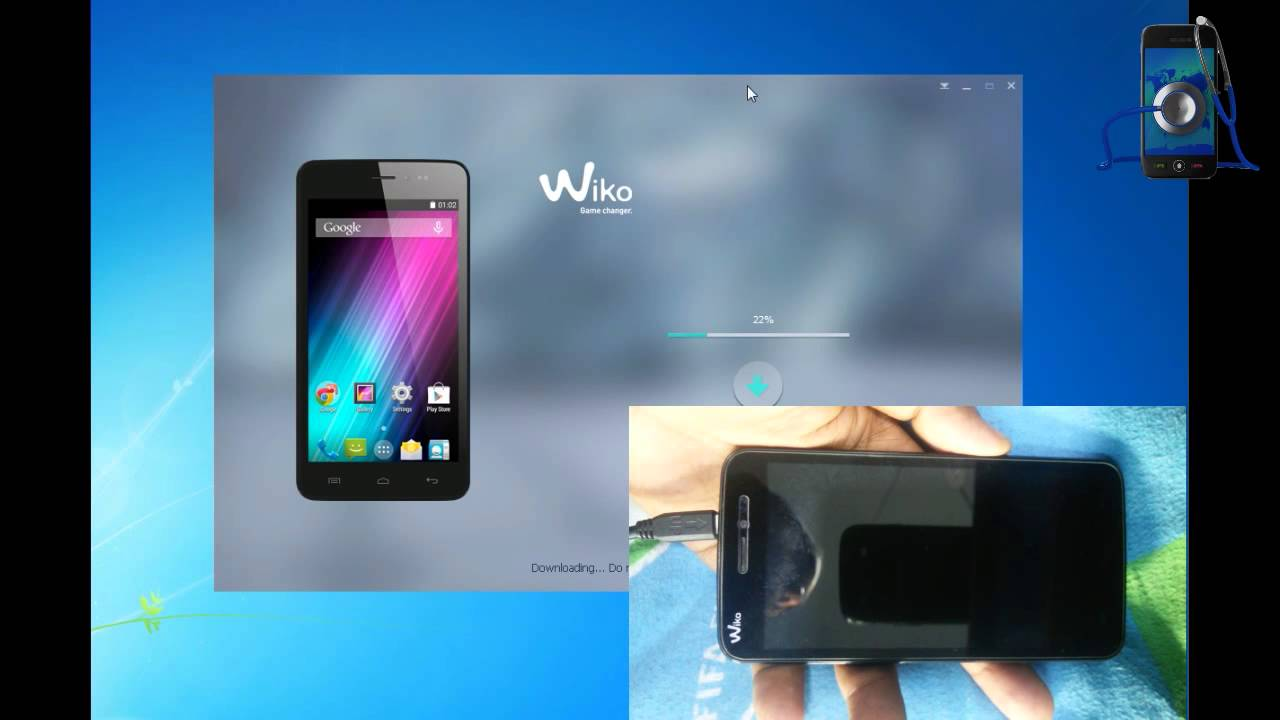 How To Flash OR Upgrade Firmware Wiko Mobile - YouTube