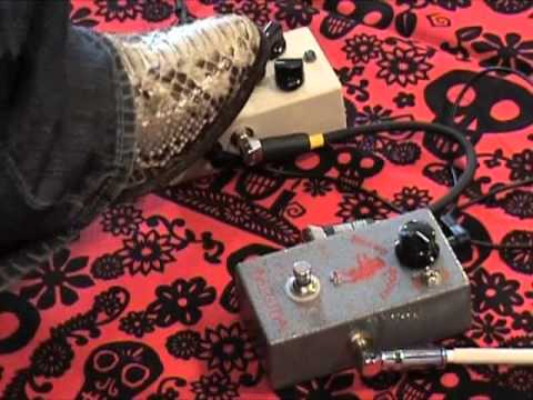 Gearmanndude Luther Drive with Analogman Beano Boost guitar pedal demo