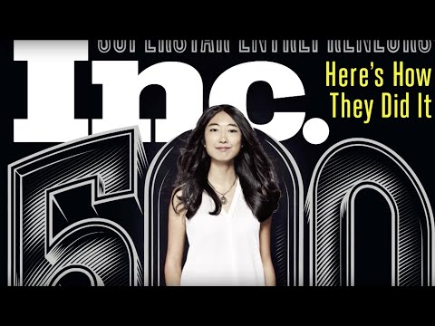 25-year-old Jessica Mah of inDinero at the Inc. 5000
