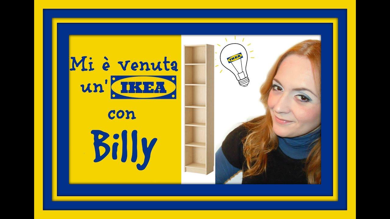Mi venuta un 39 ikea con billy 2 come costruire la libreria arte per te youtube - Vasetti vetro ikea ...