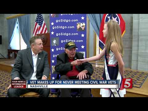 Gov. Haslam Meets With WWII Vet