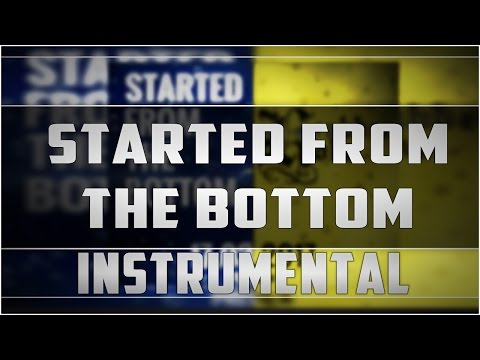 Remake: Spongebozz - Started From The Bottom Instrumental [HD]