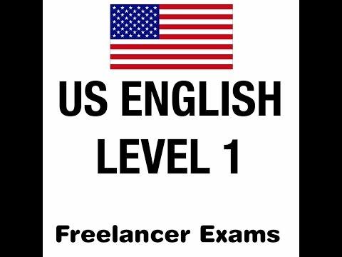 Freelancer US English Level 1 Skills Test with Answers 2018
