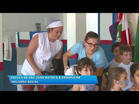 Escola de São João Batista é exemplo de inclusão social