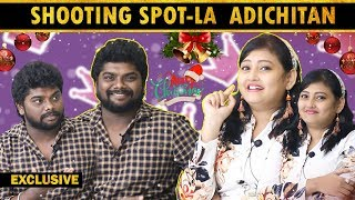 I was afraid to act TSK-too…! | Punidhan Team Actor TSK & Naayagi Actress Sowmiya Interview | TOC