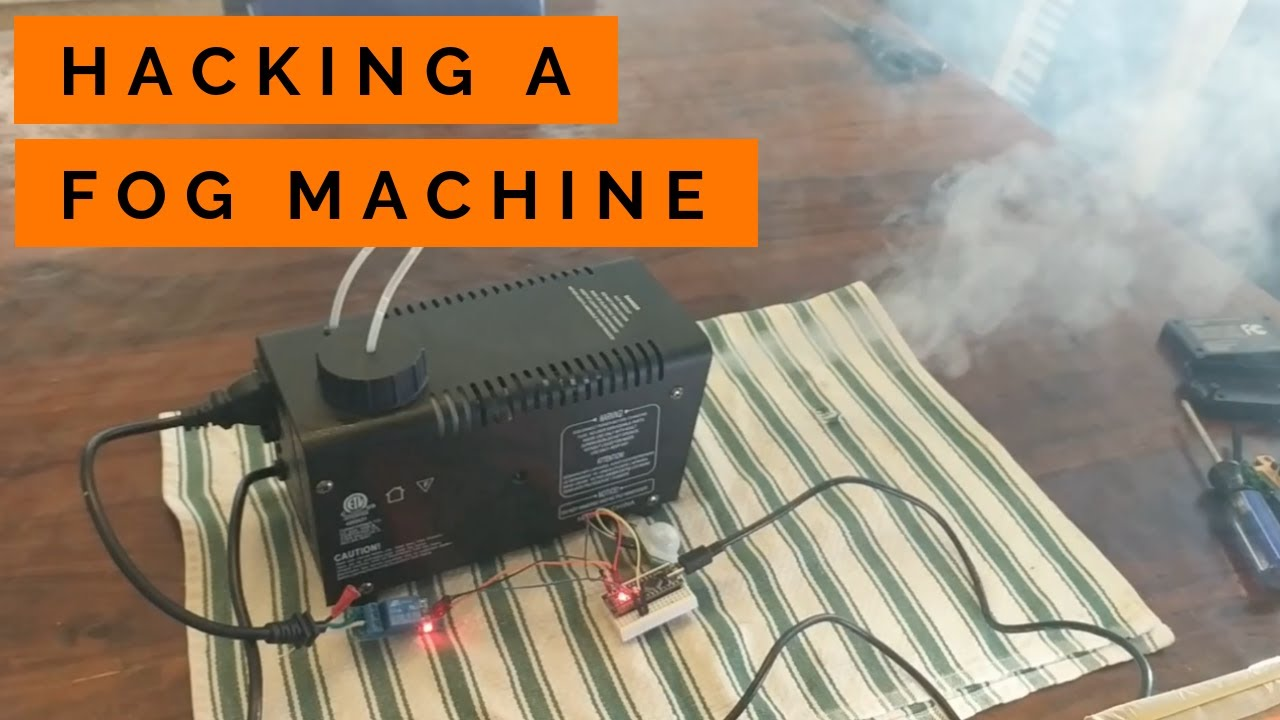 Fog Machine Breakdown and Hacking for Arduino Control - YouTubeYouTube