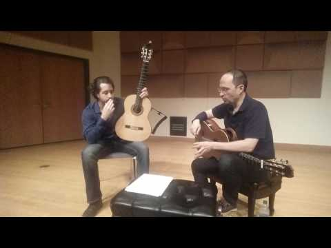 Denis Azabagic teaches Tocatta a Pasquini, 3rd movement from Sonata by Leo Brouwer, part 1