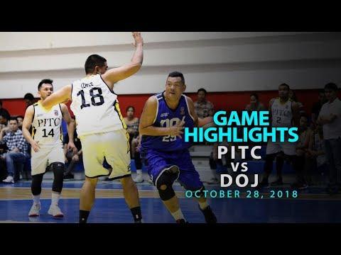 HIGHLIGHTS: PITC vs DOJ (October 28, 2018)