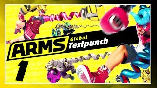 ARMS GLOBAL TESTPUNCH - 27.05.17 2 Uhr Slot - Pro Controller