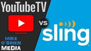YouTube TV vs Sling TV 2019 - (Honest Review)