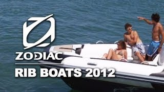 Zodiac new Rigid Inflatable Boats (RIB) boats ranges 2012