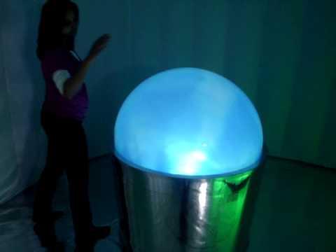 Interactive Globe to Somos Terra Exhibition in Sao Paulo