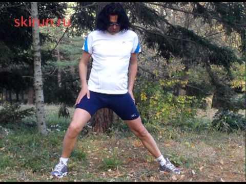 Растяжка мышц после бега - восстановление после бега