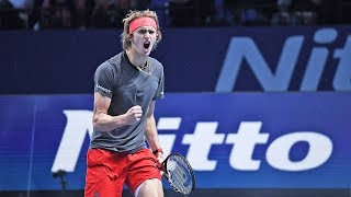 Highlights: Zverev Reaches Maiden Semi-final At The 2018 Nitto ATP Finals