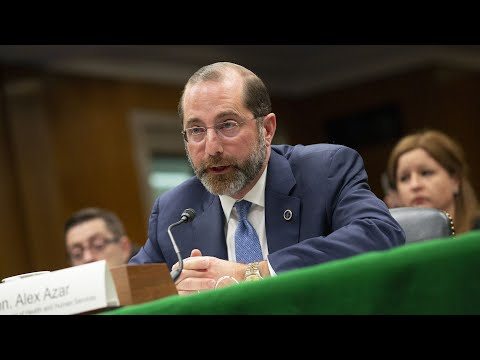 WATCH LIVE: HHS Secretary Azar, CDC officials testify before House committee on coronavirus response