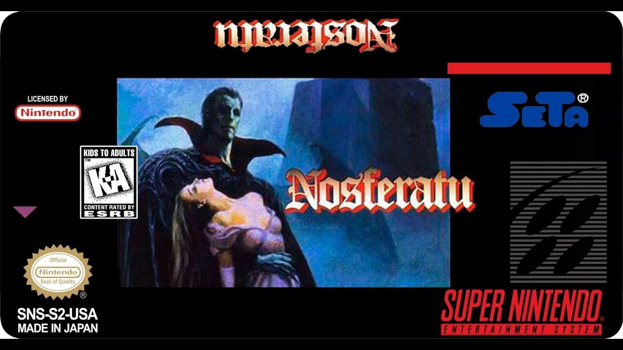 Kết quả hình ảnh cho Nosferatu (USA) snes