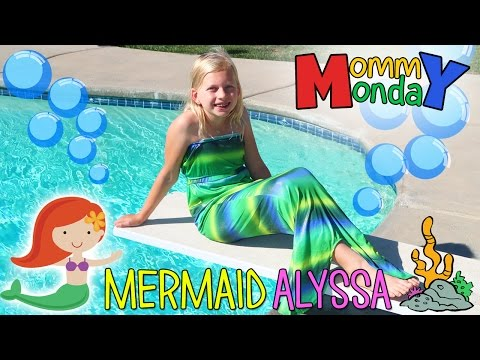 Mermaid Swimming Fail & Halloween Costumes || Mommy Monday