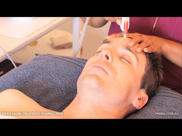 Men's Facial Treatment by Prana in Applecross, Perth