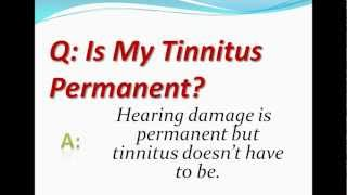 Is My Tinnitus Permanent?