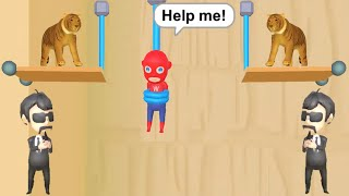 RESCUE CUT ALL LEVELS 1600 GAMEPLAY