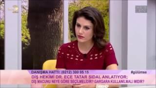 Diş Macunu Seçimi - Dr.Dt Ece Tatar SİDAL - NisbetiyeDent