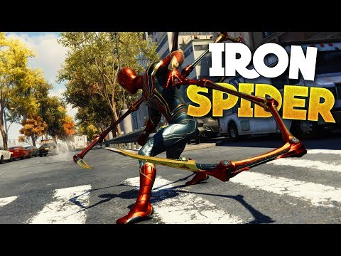 Spider-Man PS4 How To Get The Iron Spider Suit! (Best Suit)