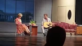 Людмила Артемьева и Николай Добрынин в комедии Близкие люди в Якутске 16 ноября 2016