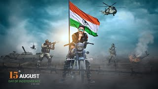 15 August Picsart Editing Tutorial | Independence day special Photo Manipulation |  Flag editing