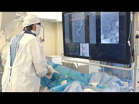 Ангиограф в Челябинской областной клинической больнице