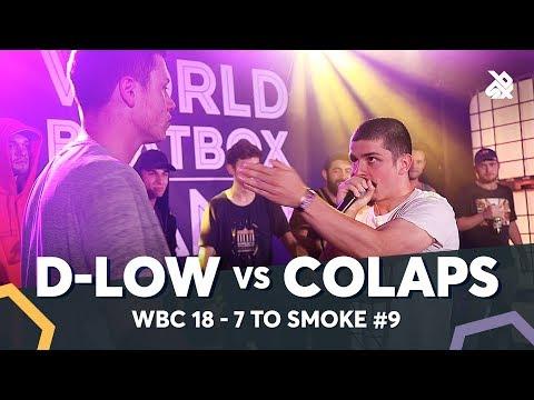 COLAPS vs D-LOW | WBC 7ToSmoke Battle 2018 | Battle 9