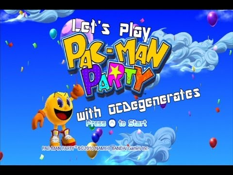 Power COOKIES!? - Let's Play Pac-Man Party (Part 1)