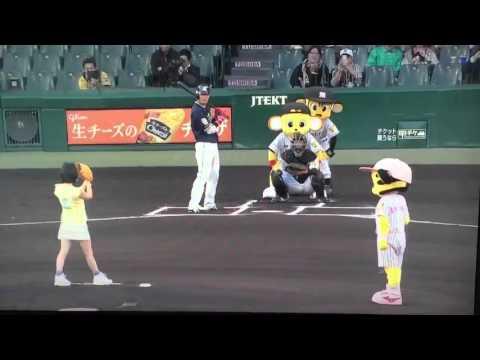 2016/4/20 NMB48 山本彩 始球式