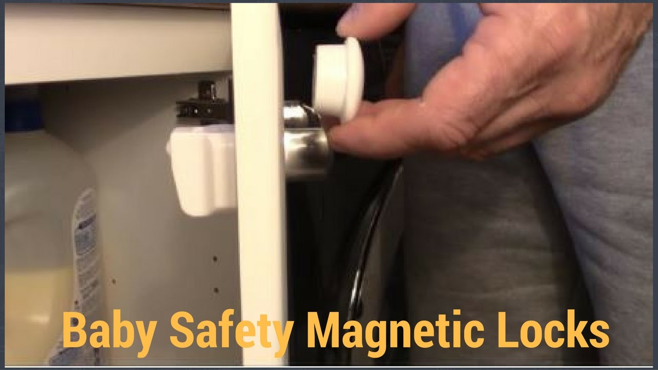 Cabinet Magnetic Lock Video Instruction