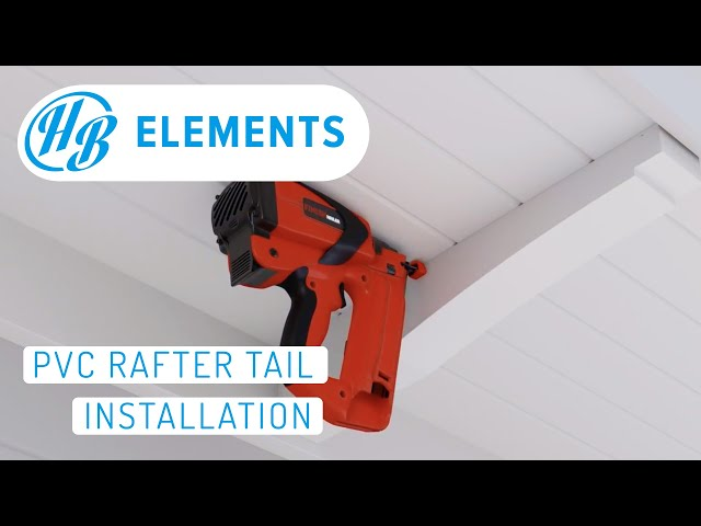 How to Install Hardie Boys Rafter Tails