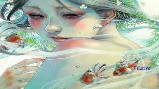 Miho Hirano ART | Милая беспечная юная Девочка-Весна Картины художника Михо Хирано | HD