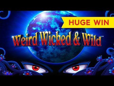 Weird Wicked & Wild Slot - HUGE WIN BONUS! - 동영상